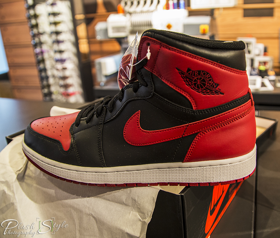 Air Jordan 1 Retro OG Bred image