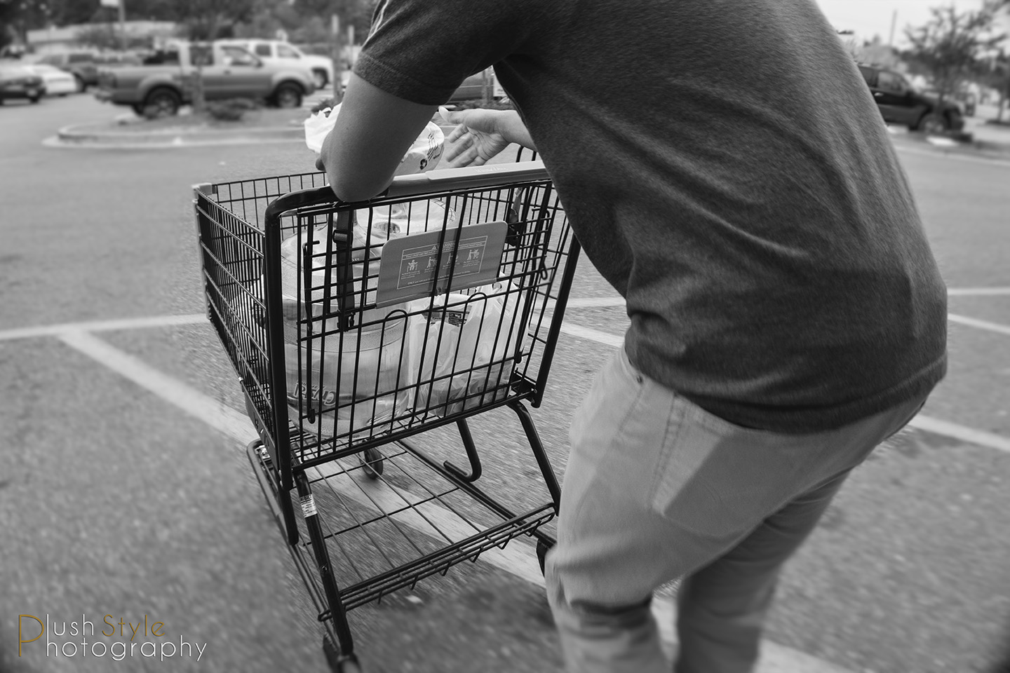 leaving grocery store image
